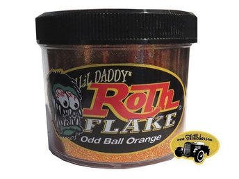 Odd Ball Orange Roth Flake ( Custom, Lack ,metalflake