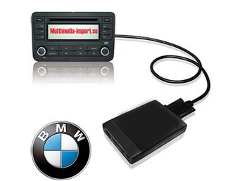 USB/AUX interface till orginalstereon BMW 98-08