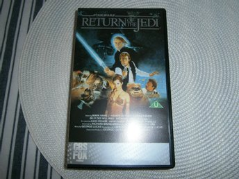 Star Wars (Return of the Jedi) Stjärnornas Krig VHS