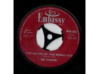The Typhoons  The house of the rising sun