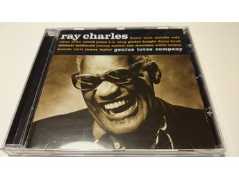 RAY CHARLES, GENIUS LOVES COMPANY (VAN MORRISON,WILLIE NELSON,BONNIE RAITT M.FL)