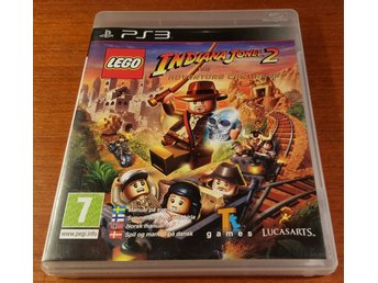 Lego Indiana Jones 2 The Adventure Continues - Komplett - PS3 / Playstation 3