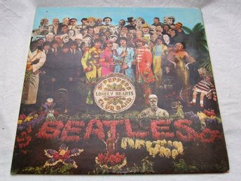 The Beatles - Sgt. Pepper's Lonely Hearts Club Band, vinyl inspelad 1967