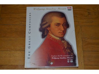 Wolfgang Amadeus Mozart - The Great Composers DTS - 2 CD - 1 DVD Box