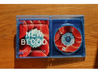 Peter Gabriel - New Blood DVD Blue ray