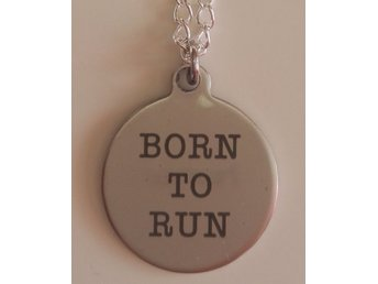 Halsband Born to Run Bruce Springsteen