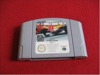 F1 WORLD GRAND PRIX II 2 till Nintendo 64 N64