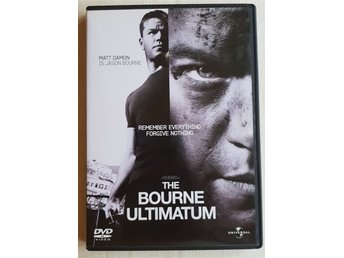 The Bourne Ultimatum 2007 DVD