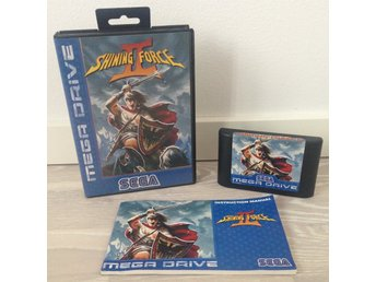 Shining Force II (PAL) - SEGA MEGA DRIVE