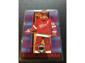 Steve Yzerman 1998-99 pacific Dynagon parallell RED
