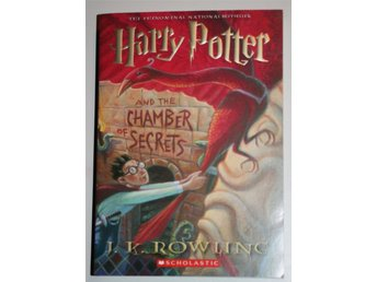 Ny oläst HARRY POTTER AND THE CHAMBER OF SECRETS J K Rowling Tryckt år 2000