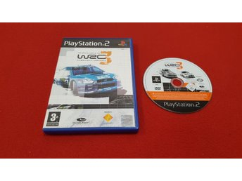 WRC 3 till Sony Playstation 2 PS2