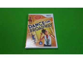 Dance on Broadway NYTT INPLASTAT Nintendo Wii