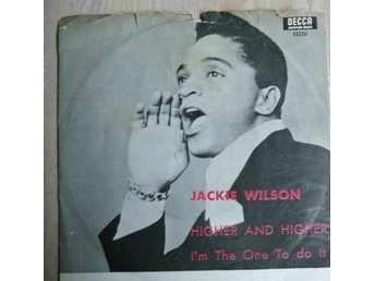 Jackie Wilson - Higher and higher-skivomslag ( ingen skiva)