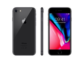 Apple iPhone 8 64GB Space Grey EU (329804756) ᐈ Ginza på Tradera 0d4038ee641