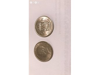 2 st 5 kronor 1972