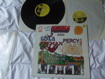KINKS Golden hour Percy Lola 2LP - Koppom - KINKS Golden hour Percy Lola 2LP - Koppom
