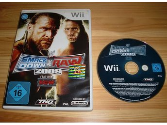 Wii: WWE Smackdown vs Raw 2009