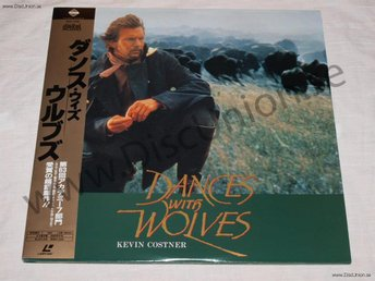 DANCES WITH WOLVES -  JAPAN LD
