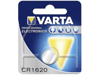 10x1 Varta electronic CR 1620 PU inner box