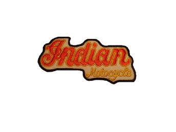 Indian MC Banner Brodyrmärke.