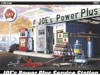Academy 1/24 Joes Power Plus Service Station - Lund - Academy 1/24 Joes Power Plus Service Station - Lund