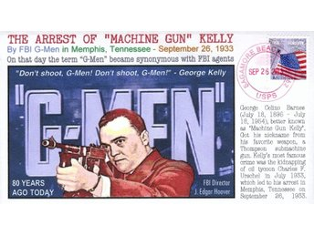 "80th Anniversary ""G-Men"" coined by Kelly Event Cover"