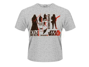 STAR WARS- RED VILLAINS CHARACTER T-Shirt - Large