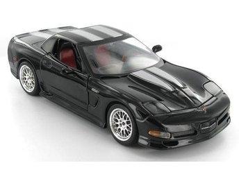 2005 Corvette C6 Z06 FRC Specter Werkes Group 5. Black. Maisto 1.18. - Genarp - 2005 Corvette C6 Z06 FRC Specter Werkes Group 5. Black. Maisto 1.18. - Genarp