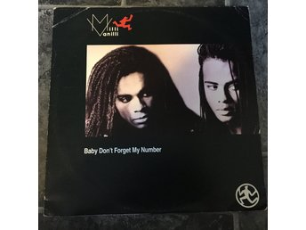 "MILLI VANILLI - BABY DON´T FORGET MY NUMBER. (NEAR MINT 12"")"
