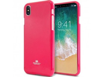 Mercury Jelly Case Apple iPhone X Färg: Rosa