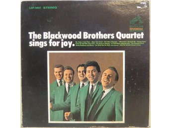 The Blackwood Brothers Quartet-Sings for joy / SIGNERAD LP