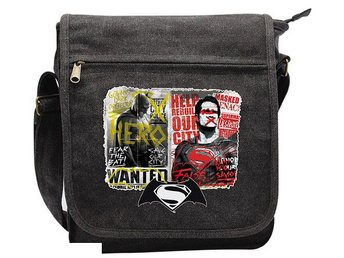 Messenger Bag - DC Comics - Batman vs Superman Graffiti