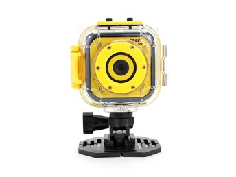 K1 Kids Action Camera - CMOS Sensor, 720p Video, 5MP Pictures, 80-Degree Lens, 1