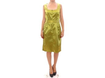 Dolce & Gabbana - Green stretch sheath dress