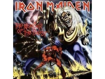 IRON MAIDEN - THE NUMBER OF THE BEAST. NEW LP.