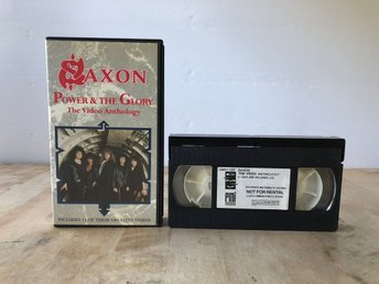 Saxon - Power & The Glory - The Video Anthology - VHS