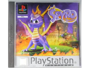 Spyro the Dragon (Platinum) - PS1 - PAL (EU)