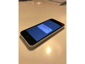 iPhone 5c 32GB vit