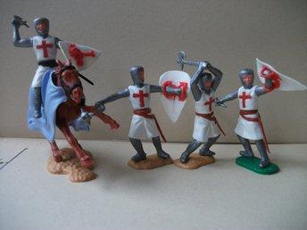 4 st TIMPO swoppit Tempelriddare/Templar Knig   (357899244