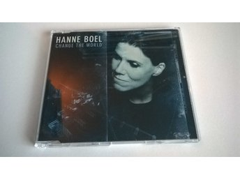 Hanne Boel - Change the World, Promo, Single, CD
