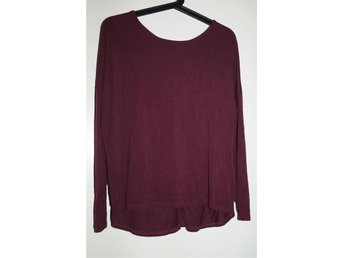 Vinröd tröja från cubus - Kungsängen - Vinröd tröja från cubus - Kungsängen