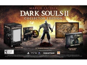 Dark Souls 2 Collectors Edition PS3 spel Bra skick