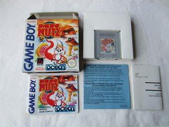 Mr NUTZ till Game Boy Komplett FAH i Fint skick, Ovanligt! - Solna - Mr NUTZ till Game Boy Komplett FAH i Fint skick, Ovanligt! - Solna