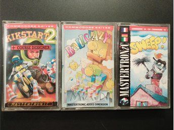 Kickstart 2 + Sweep! + BallCrazy till Commodore 64 / 128 | C64 | C128