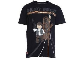 T-SHIRT, GALAXY REBELS, SVART-128