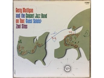 Gerry Mulligan The Concert Jazz Band on Tour - Zoot Sims -- 1962 Verve NM