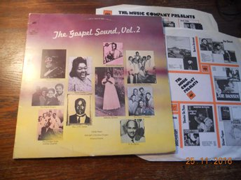 V/A - THE GOSPEL SOUND Vol. 2, CBS dubbel-LP Holland 1972