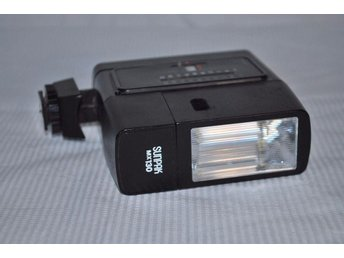 Sunpak MX130 Camera Flash retro