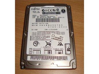60Gb IDE Hårddisk Laptop Fujitsu (kort driftstid) - Hisings Backa - 60Gb IDE Hårddisk Laptop Fujitsu (kort driftstid) - Hisings Backa